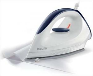 Philips GC16002 Beispiel für ein Trockenbügeleisen